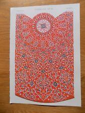 Original Book Print Grammar of Ornament Owen Jones 13x9 Inch Turkish 3