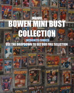 Collection Of BOWEN DESIGNS Marvel Mini Busts - Choose From the Dropdown