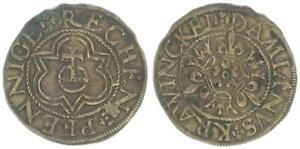Env. 1543-1581 Nuremberg Rechenpfennig, Damian Krawinckel Ttb 63124
