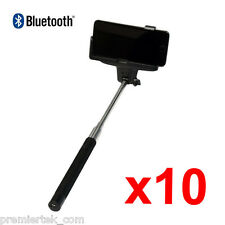 Lot of 10 Self-Portrait Monopod Bluetooth Shutter Handheld Selfie iPhone 10pcs