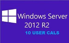 Windows Server 2012 R2 RDS Remote Desktop Services 10 User Cal's License-Limited