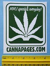 Ganja STICKER: Cannapages ~ Medical Marijuana Services ~ Colorado Legal Cannabis