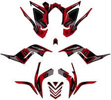 Fits Yamaha Raptor 700R Graphics Kit 2006 2007 2008 2009 2010 2011 2012 decals