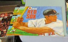 1972 Boston Red Sox Detroit Tigers Baseball Game Program Carlton Fisk Article