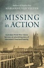 NEW Missing in Action By Marianne van Velzen Paperback Free Shipping
