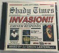 DJ Green Lantern Invasion Pt.1 NYC Hip Hop Mixtape PROMO MIX CD