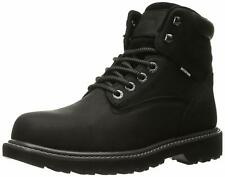 Wolverine Mens Floorhand Leather Steel toe Lace Up Safety, Black, Size 10.5 Cmlw