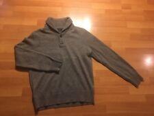 J. CREW Women's Size Medium M  PullOver Sweater 100% Lambswool Gray