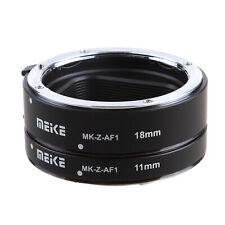 Meike MK-Z-AF1 Auto Focus Metal Macro Extension Tube Adapter for Nikon Z6 Z7 New