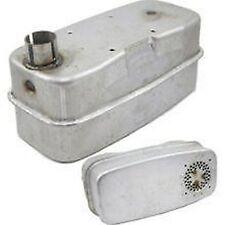 Briggs & Stratton Exhaust Muffler 498984, 498984S OEM Genuine New Super Lo Tone