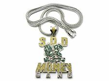 "SOULJA BOY'S SOD MONEY GANG PIECE & 36"" FRANCO CHAIN."