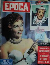 """"""" EPOCA ANNO 1955 : N°52 USCITE SETTIMANALI ! """" ANNATA COMPLETA """""""