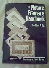 Vintage Picture Framer'S Handbook The Other Artist Lawrence Janet Burnett