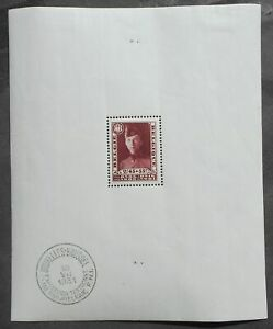 Belgium 1931 Exhibition, block, Mi #Block 2, MNH, CV=600EUR