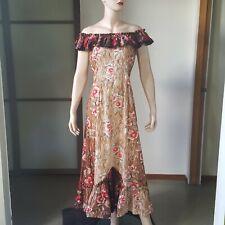 1950s Vintage Kamehameha Cotton Holomu'u Hawaiian Dress 31W