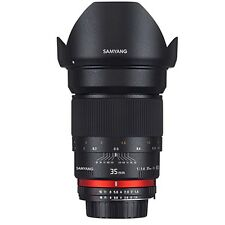 Samyang 35mm f/1.4 UMC AS lens for Canon AE electronic circuit!  FINAL SALE