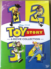 Toy Story 1-4 4-Movie Dvd Collection 4 Films Combo Free First Class Shipping