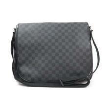 Authentic LOUIS VUITTON DAMIER GRAPHITE DANIEL GM N58033 #260-002-311-8119