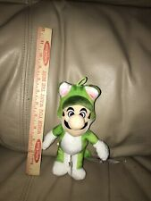 NWT new Super Mario Bros Green Frog cat Suit Plush Licensed Nintendo