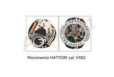 Movimento al quarzo HATTORI VX82 movement quartz Shiojiri TMI watch Japan Made