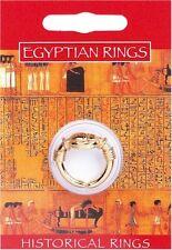 Egyptian placcato oro Anello Scarab