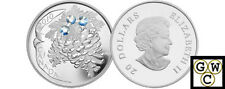 2010 Moonlight Crystal Pinecones Proof $20 Silver .9999 Fine (NT) (12734)
