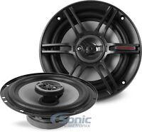 NEW! Crunch CS653 300 Watt 6.5 inch 3-Way Full Range Coaxial Car Stereo Speakers