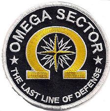 True Lies - Wahre Lügen - OMEGA SECTION -The Last Line of Defense patch Aufnäher