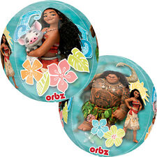 Disney Moana ORBZ Balloon Girls Birthday Party Decoration Supplies Hawaiian Maui