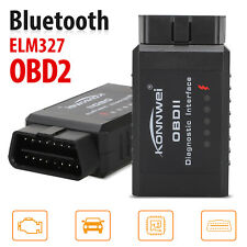 OBD2 Car Bluetooth Code Scanner Reader ELM 327 Automotive Diagnostic Tool OBDII