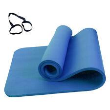 183×61cm Tappetino Yoga Antiscivolo 10mm Per Gli Amanti Dello Yoga Incinta V1F6