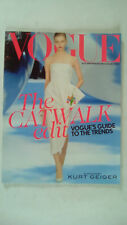Vogue Magazine Autumn / Winter 2013 Collections Catwalk Edit Kurt Geiger