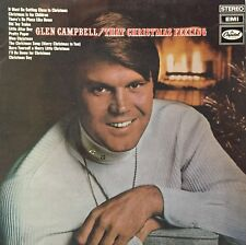 GLEN CAMPBELL That Christmas Feeling LP Capitol Records