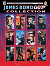 """James Bond 007 Collection"" MUSIC BOOK/CD-CELLO W/PIANO ACCOMPANIMENT-NEW-SALE!!"