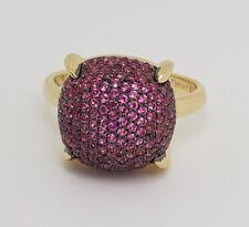 Tiffany & Co. Paloma Picasso 'Sugar Stacks' Ring Pink Sapphire 18k 18ct Gold