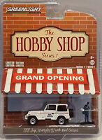 Greenlight 2017 The Hobby Shop Serie 1 1991 Jeep Wrangler YJ weiß Figur