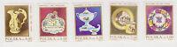 (T6-60) 1982 Poland set of6 ceramics