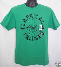 Classically Trained Joystick T-Shirt Old Scool Video Game NWT Green Sz Medium