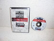 Lest We Forget : A Documentary of Anti-Semitism Past And Present DVD