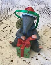 The Danbury Mint Baby Animal Christmas Ornament Collection Anteater Mwt