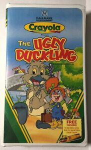 The Ugly Duckling Hallmark Home Entertainment (VHS 1997 Lge Clamshell) Acty Book