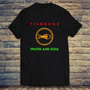 Fishbone Band Rock Band Legend Logo Men's T-shirt Tee Size S-2XL