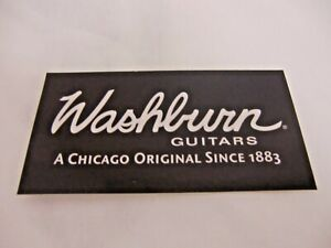 WASHBURN GUITARS CHICAGO ORIGINAL DECAL BUMPER STICKER ACCOUSTIC GUITAR NEW RARE