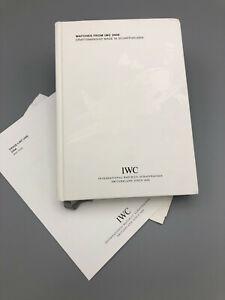 2006  IWC dealer watch catalog -book w/price list    International Watch Co.