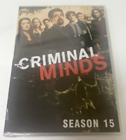 Criminal Minds - Season 15 New Complete DVD ( Free USPS First Class ) Brand New