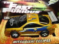 Johnny Lightning ~ Mitsubishi Eclipse ~ From Fast & The Furious ~ Fits Afx, Aw