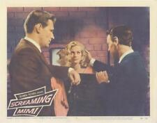 """SCREAMING MIMI""-ORIGINAL LOBBY CARD-#4-ANITA EKBERG-NOIR-PHIL CAREY"