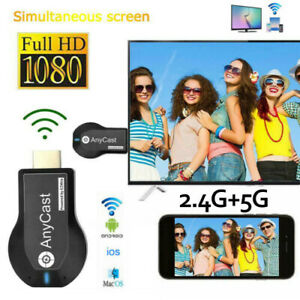 AnyCast M2 Plus WiFi Display Receiver HDMI Dongle Airplay Miracast TV DLNA 1080P