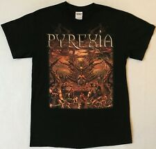 PYREXIA Let The Feast Begin Size Medium Black T-Shirt