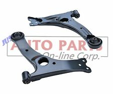 2 CONTROL ARMS with bushings TOYOTA COROLLA 2009 10 11 12 2013 repair suspension